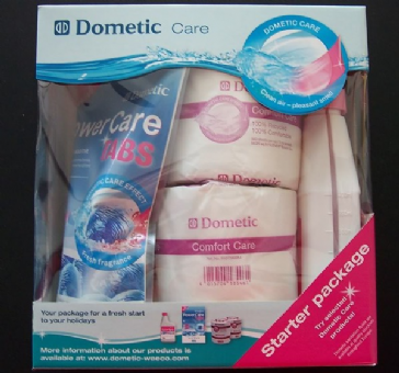 Dometic Triple Starter Pack - Tabs Fresh Fluid Toilet Paper Chemicals